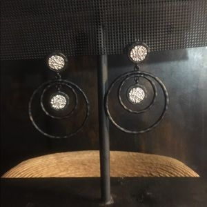 Fashion Open Circle Hoop Earring.